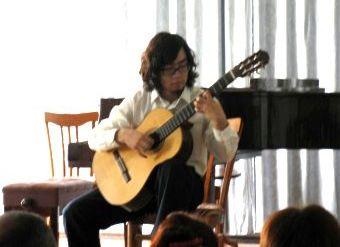 Конкурс исполнителей на народных инструментах, гитара